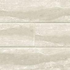 Gris Travertine Subway - Ceramic - Glossy - 4X16