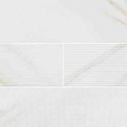 White Calacatta Glossy Mix - Ceramic - Glossy - 4X16