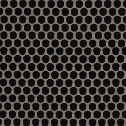 Black Glossy Penny Round Mosaic - Porcelain - Glossy - 12X12