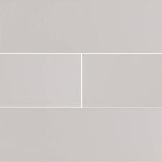Gray Glossy Subway - Ceramic - Glossy - 4X16