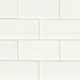 White Subway - Ceramic - Glossy - 3X6