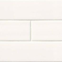 White Subway - Ceramic - Glossy - 4X16