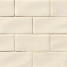 Antique White Subway - Ceramic - Glossy - 3X6