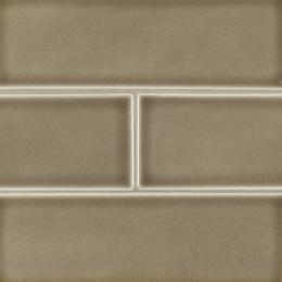 Artisan Taupe Subway - Ceramic - Glossy - 4X12