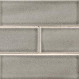 Dove Gray Subway - Ceramic - Glossy - 4X12
