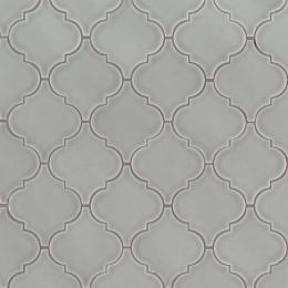 Morning Fog Arabesque - Ceramic - Glossy - 12X12