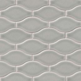 Morning Fog Ogee  - Ceramic - Glossy - 12X12