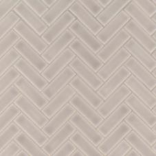 Portico Pearl Herringbone - Ceramic - Glossy - 12X12