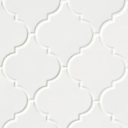 Whisper White Arabesque - Ceramic - Glossy - 12X12
