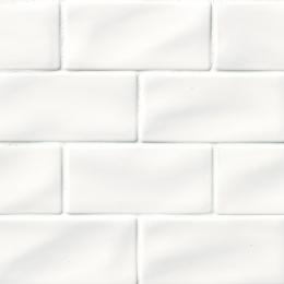 Whisper White Subway - Ceramic - Glossy - 3X6