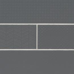Graphite 3D Mix - Ceramic - Glossy - 4X12