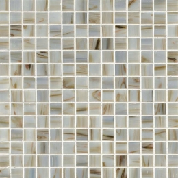 Iridescent Ivory Glass  - 12X12