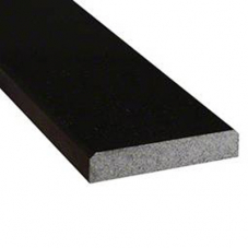 Black Granite  5x36x0.75 Polished Double Beveled Threshold
