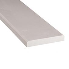 Engineered White 2x36x0.625 Polished Double Beveled
