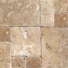 Tuscany Chateaux - Chiseled, Honed, Unfilled - Pattern