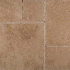 Tuscany Hazelnut - Chiseled, Honed, Unfilled, Brushed - Pattern