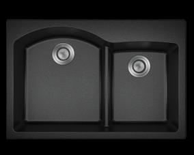 Black Offset Low Divide Topmount-T811