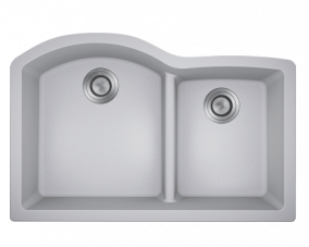 Silver Offset Low Divide Undermount -811