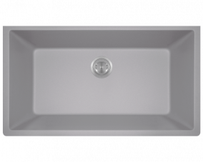 Silver Single Bowl Undermount-848