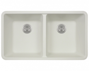 White Double Equal Bowl -802