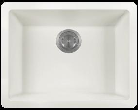 White Single Bowl-808