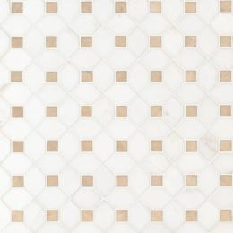 Bianco Dolomite Crema Dotty - Marble - Polished - 12X12