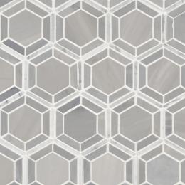 Hexagono Grigio - Marble - Polished - 12X12