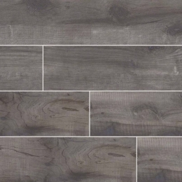 Country River Mist - Glazed - Matte - 6X36, 8X48