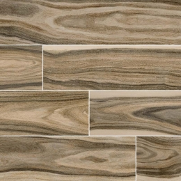 Dellano Deep Bark - Glazed - Polished - 8X48