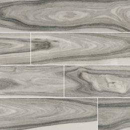 Dellano Moss Gray - Glazed - Polished - 8X48
