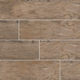 Redwood Natural - Glazed - Matte - 6X24, 6X36, 8X48