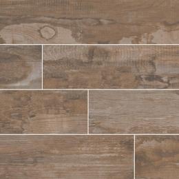 Salvage Brown - Glazed - Matte - 6X40