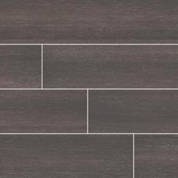 Turin Nero - Glazed - Matte - 6X24, 12X24